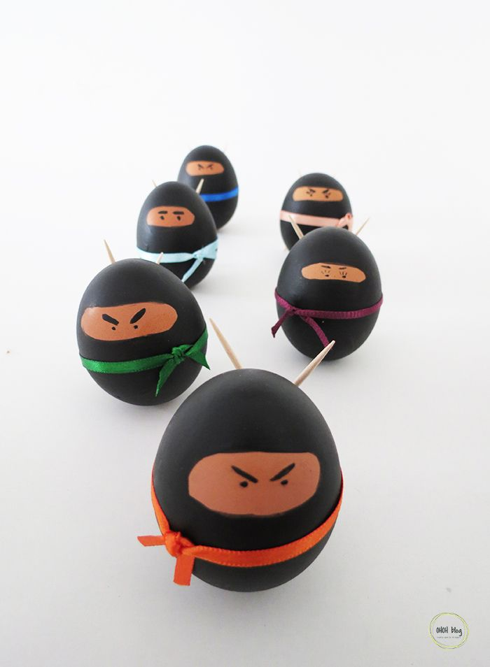 DIY Ninja Easter EggsMake these Ninja Easter Eggs with materials you probably already have. The best part of this Easter egg DIY is that you…