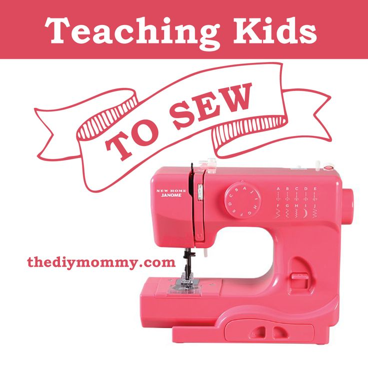 How to Teach Kids to Sew (+ A Janome Portable Sewing Machine Review & Giveaway!) | The DIY Mommy