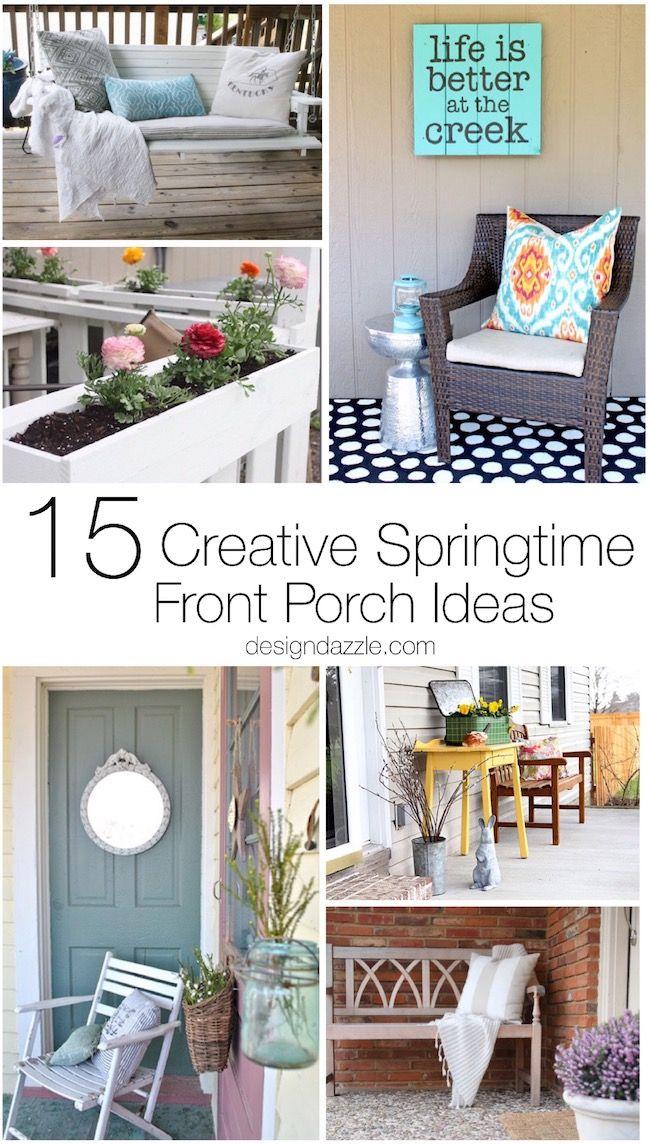 15 Creative Springtime Front Porch Ideas