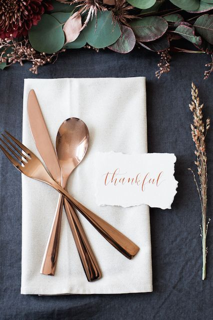 brass utensils for fall entertaining