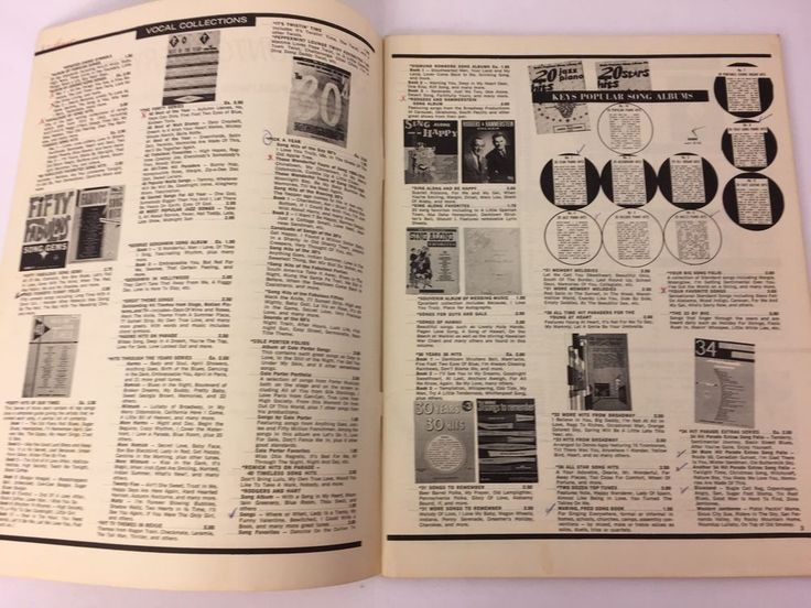 Vintage Montgomery Ward Music Catalog Printed in USA #MontgomeryWard