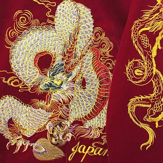 red dragon Bomber Jacket boogzel apparel