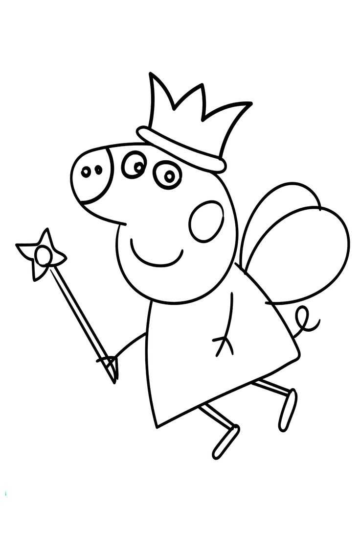 50+ Peppa Pig Coloring Pages For Kids Ausmalbilder