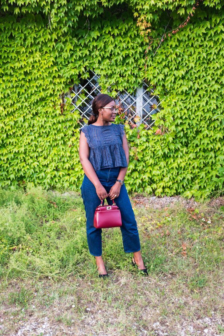 Mango top| Cos jeans| Fendi Handbag | Zara shoes