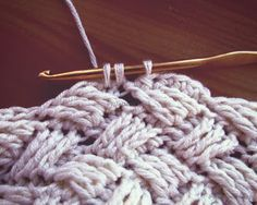 cable stitch tutorial at http://make-handmade.com/2013/06/10/beauty-baby-cable-hat-crochet-pattern/