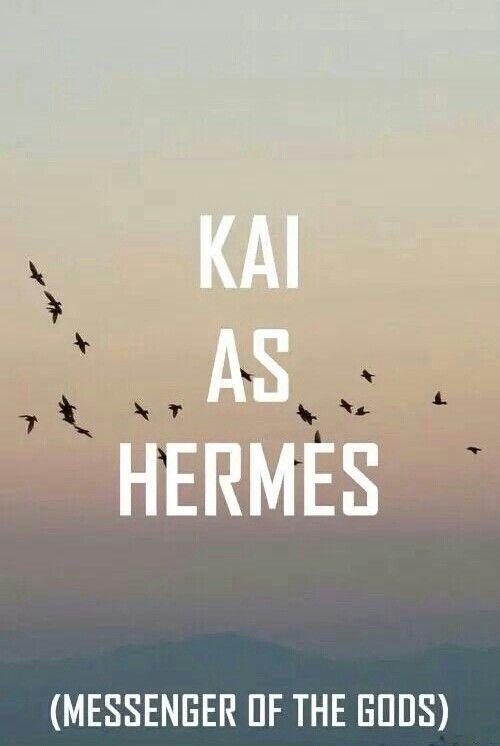 Exo as Greek Gods Kai