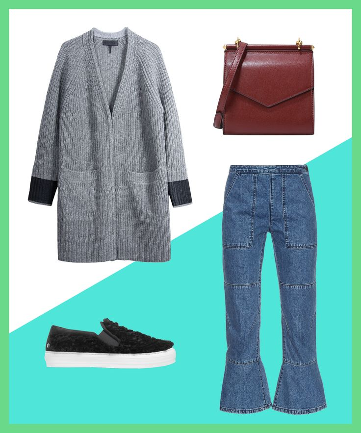 5 Easy Ways To Style An Oversized Sweater #refinery29  http://www.refinery29.com/how-to-wear-oversized-sweaters