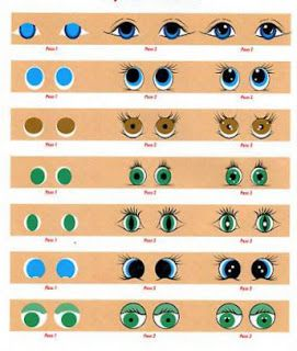 Painting Eyes Step by Step: 5 tutorials