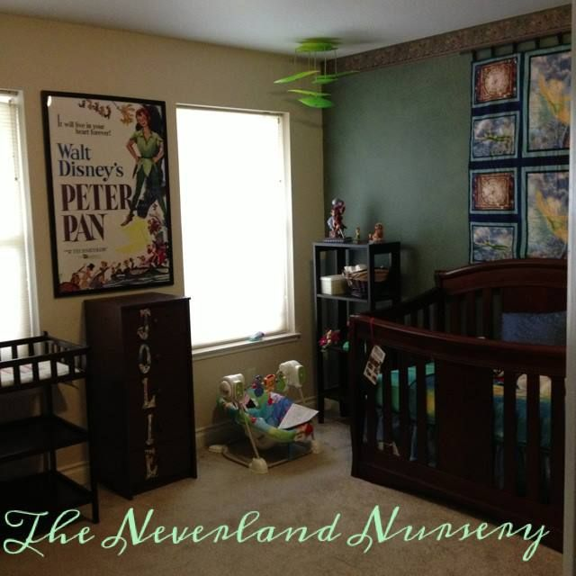 It S Complete Here Is The Peter Pan Neverland Nursery