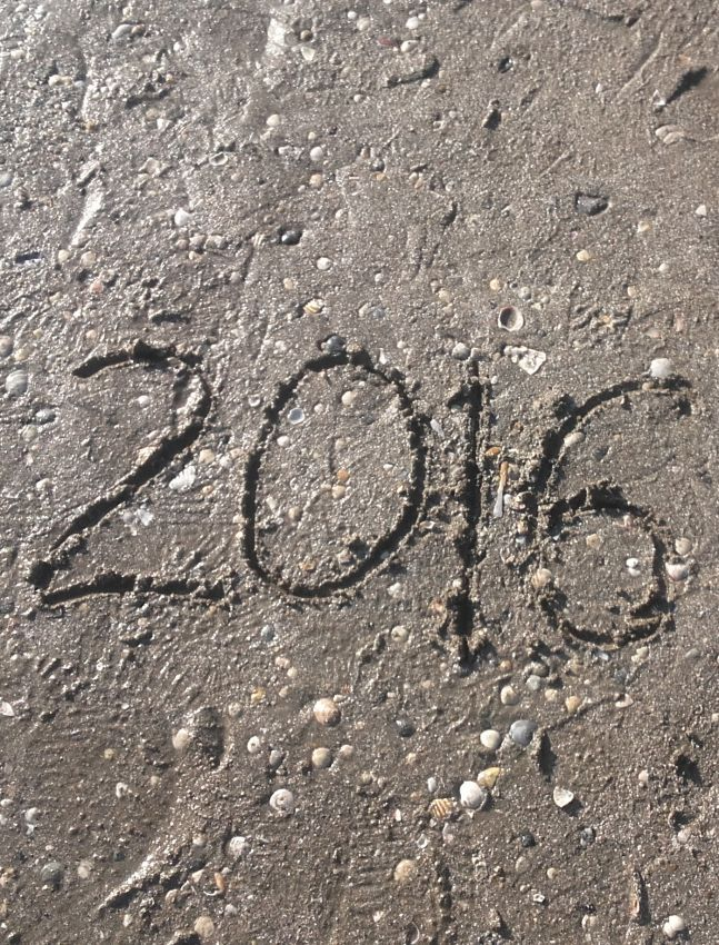 #VeniceLido (01.01.16) - Welcome 2016 on the #sand