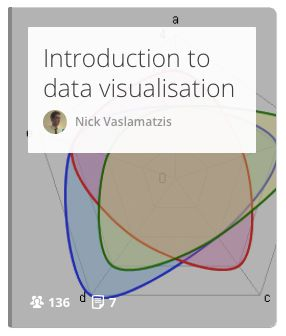 This online course offers a quick introduction to scientific data visualisation. #data #visualisation