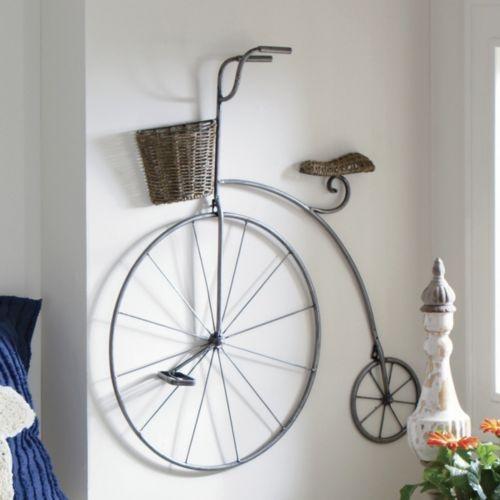 Adorno para pared bicicleta de seventh avenue wall bike - Decoracion forja pared ...