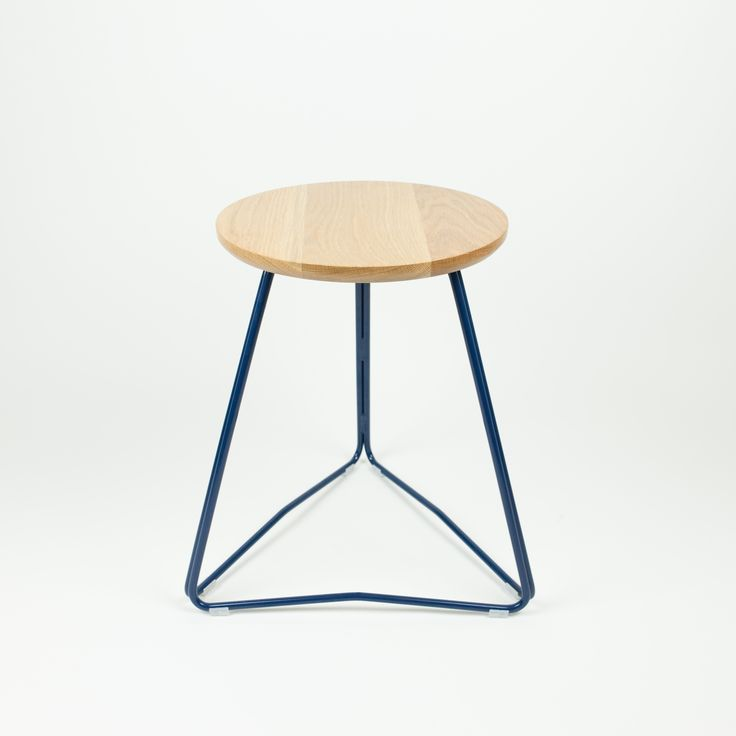 TRI450 great low stool or used as a bedside table www.huntfurniture.com.au