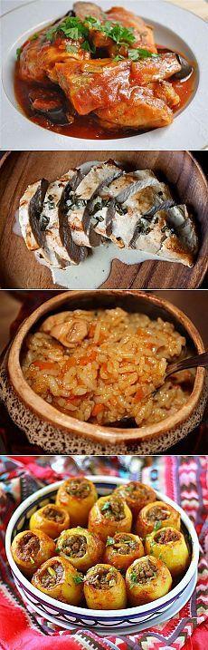 Feluri principale |  85 rețete pentru mâncăruri delicioase și sănătoase!