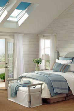 VELUX skylight blinds