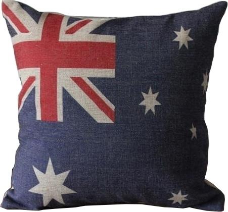 "Union Jack Australia 18"""