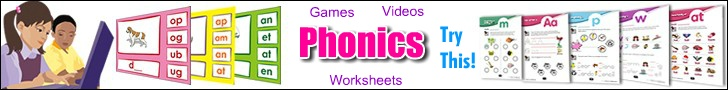 Free phonics worksheets makers | word bank, spelling, alphabet worksheets, reading, writing, bingo, word searches, crosswords