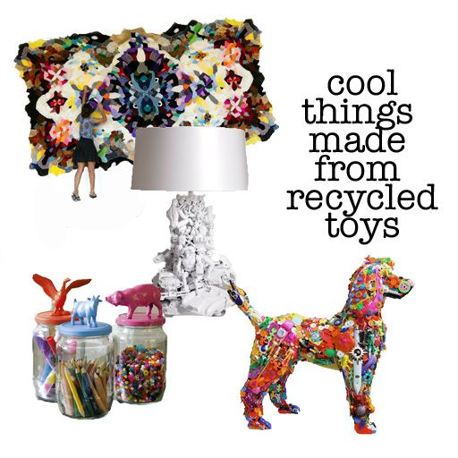 Best 25 recycled toys ideas on pinterest recycled robot for Cool recycled stuff