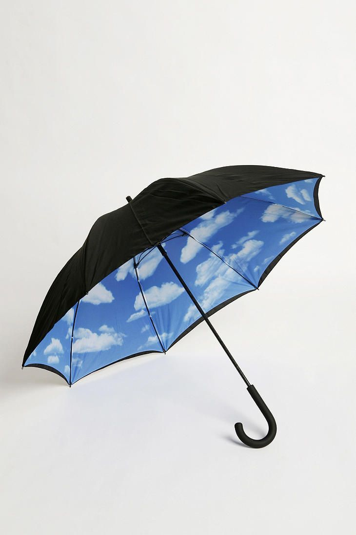 Sunny Skies Umbrella | Urban Outfitters | This would make a rainy day seem just a little better