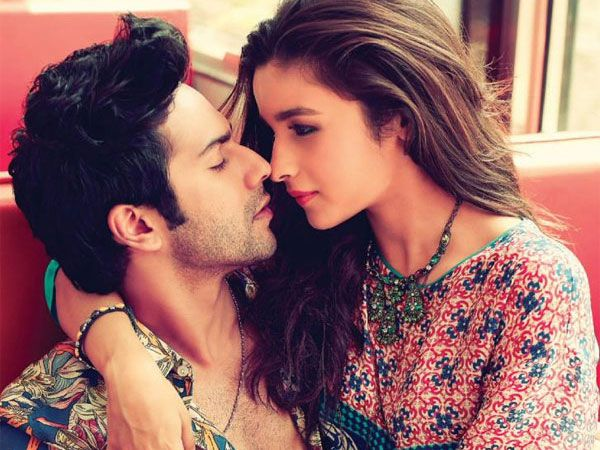 Director Shashank Khaitan shares a picture as Alia Bhatt and Varun Dhawan take a lunch break from 'Badrinath Ki Dulhania' shoot.