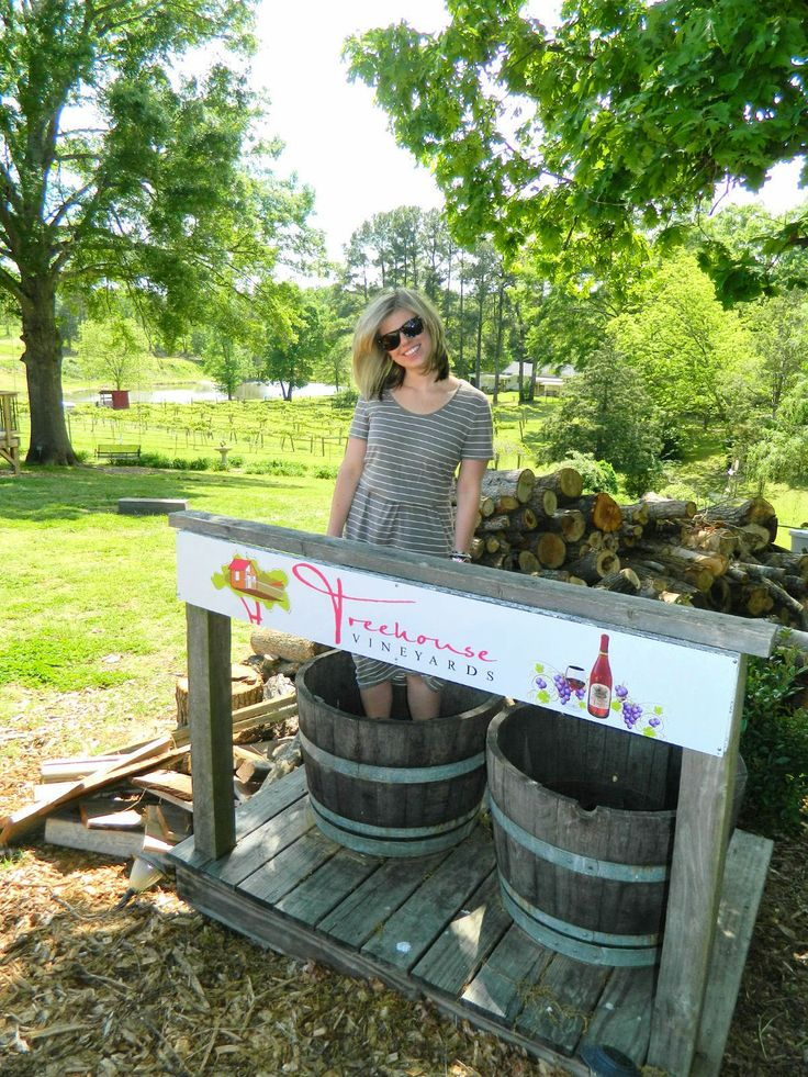 Louella Reese: Treehouse Vineyards I - Friday Funday on the blog today