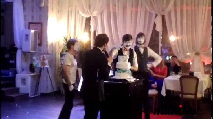 MimikLab: презентация торта на свадебной вечеринке https://www.youtube.com/watch?v=8VKc9eYVCY8  #MimikLab #events