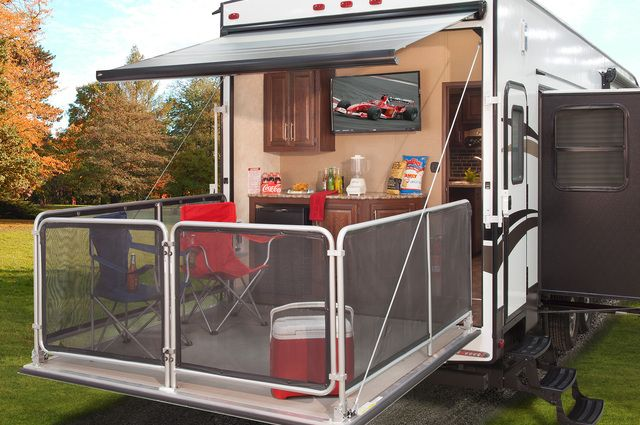 Rv Dealers In Iowa >> 45 best images about Fifth Wheel Toy Hauler Patio on Pinterest | Toy hauler, Patio and Wheels
