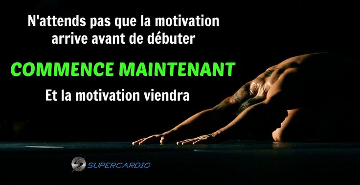 Commence maintenant! http://supercardio.ca/
