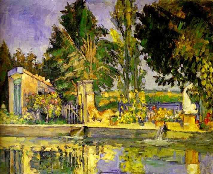 paul cezanne most famous works   Jas de Bouffan, the Pool (Jas de Bouffan, le bassin). c. 1876. Oil on ..