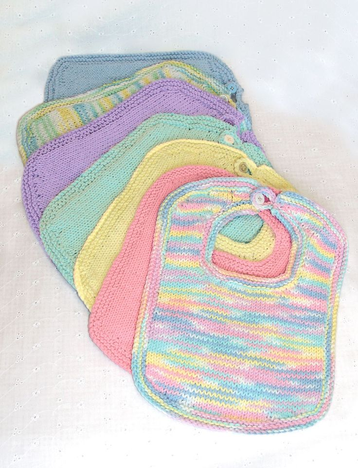 Bibs & Booties - free pattern - pair with the free booties and you have a gift for a shower!