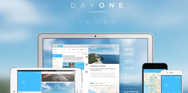DayOne - It is a journalistic app that allows you to record your day #DayOne #app #journalistic