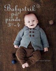 Babystrik på pinde 3 1/2-4