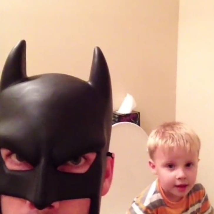This Video Makes It Abundantly Clear What It'd Be Like If Your Dad Was Batman