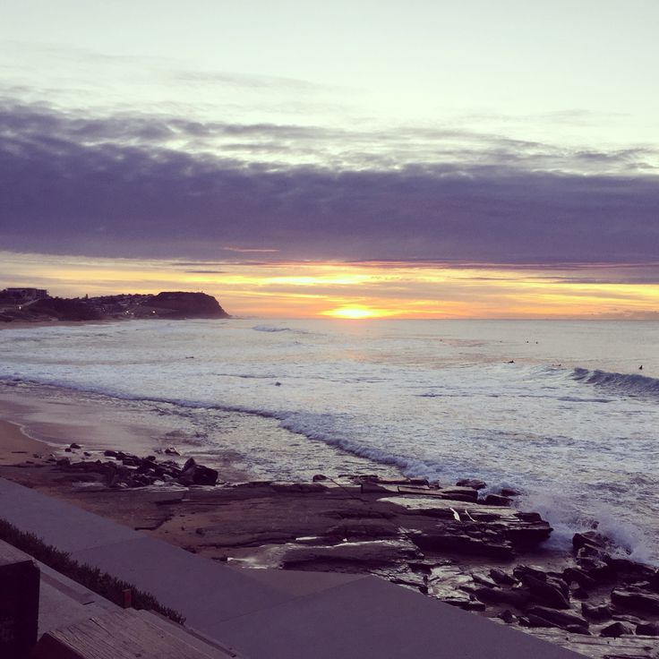 Sunrise Merewether Beach, Newcastle NSW