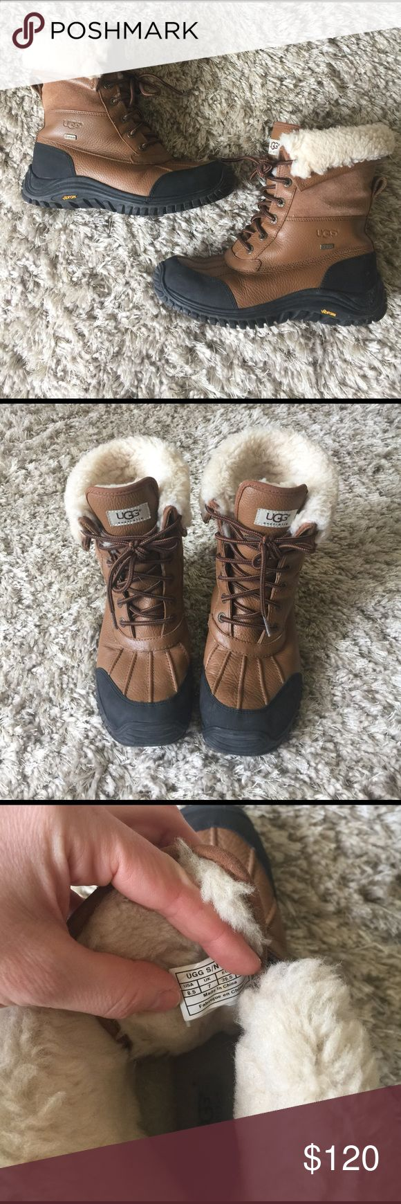 ugg boots Brown Ugg Adirondack Boots. Good used condition. Super warm!  Size 8.5 UGG Shoes Winter & Rain Boots