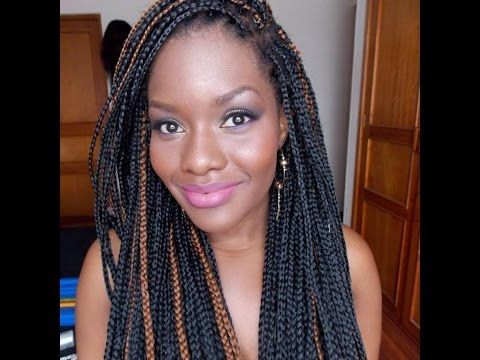 Como Hacer Trenzas Largas / How To Do Box Braids /Protective Styles TUTORIAL...DC - YouTube