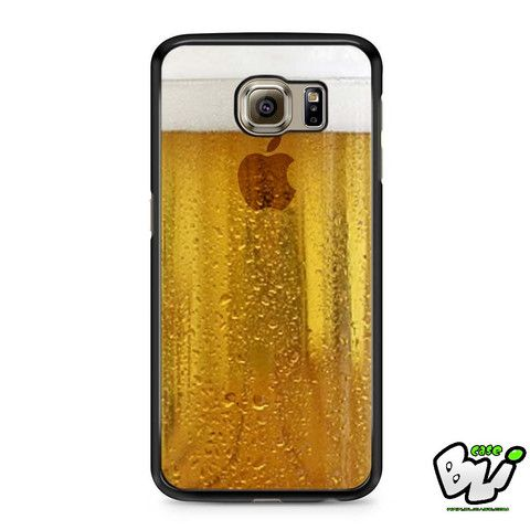 Apple Beer Samsung Galaxy S7 Edge Case