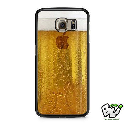 Apple Beer Samsung Galaxy S7 Edge Case
