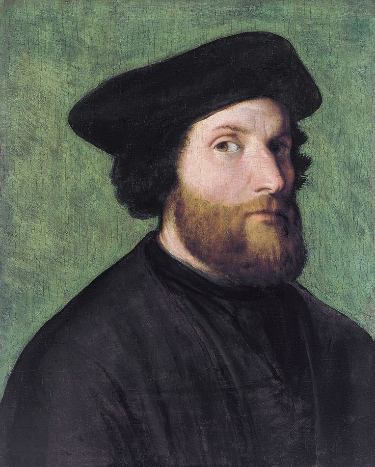 Lorenzo Lotto  c. 1480  Self-portrait, 1540s, oil on panel,  Venice, Italy  Died	1556/57  Loreto, Marches, Italy