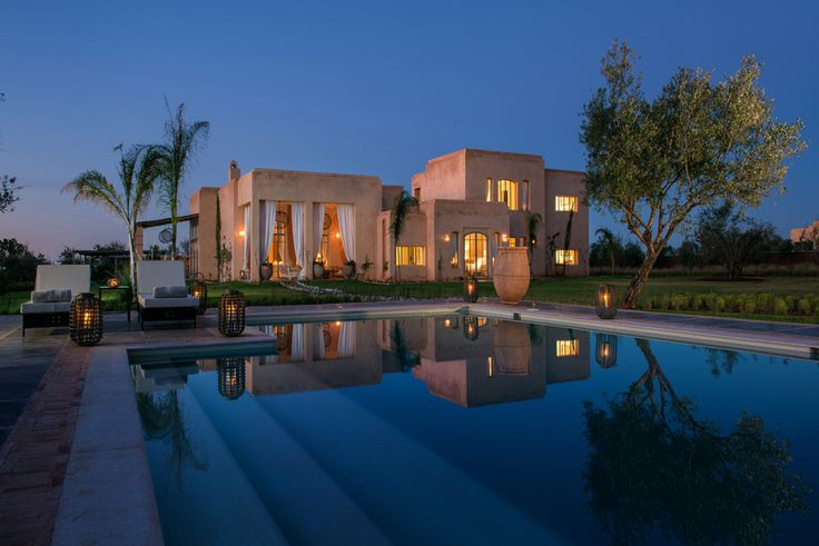 Dar Zitouna, Morocco - Sleeps up to 10. A superb luxury villa in Morocco, this stylish house offers excellent standards of comfort and service, magnificent mountain views and all the advantages of the exclusive Bab Adrar estate.