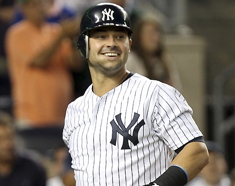 2012-08-31 Swisher's passion is always evident Nick Swisher turns 32 in November, but the veteran routinely displays the energy and enthusiasm more commonly observed on a Little League field.: Fave Team, 2012 08 31 Swisher S, Legendary Yankees, Nick Swisher, Routinely Displays, York Yankees, Ny Yankees, Yankees Baby, Evident Nick