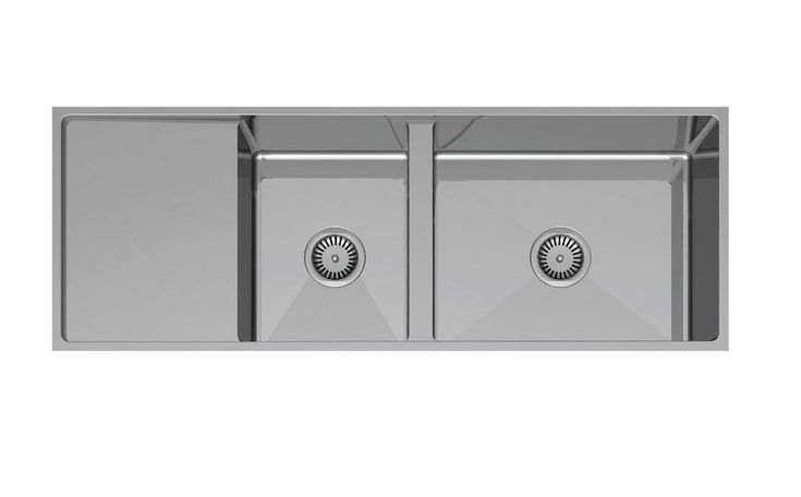 Sinkware Palermo 1200mm Double Dowl Sink Code: CDS821-120 Inset or Undermount Technical Specifications Brochure Palermo 380mm Single Bowl SinkPalermo 580mm Single Bowl SinkPalermo 630mm Double Bowl SinkPalermo 760mm Double Bowl …