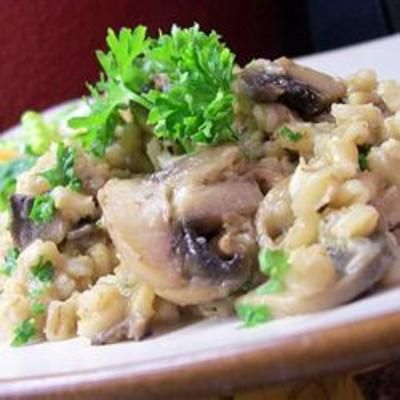 Byrdhouse Mushroom Barley Pilaf: Side Dishes, Pilaf Recipe, Food, Barley Pilaf, Savory Side, Mushroom Barley, Byrdhouse Mushroom, Dish Flavored, Mushrooms