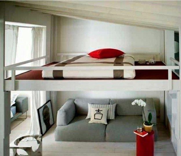 17 migliori idee su camera da letto a soppalco su - Camera letto soppalco ...
