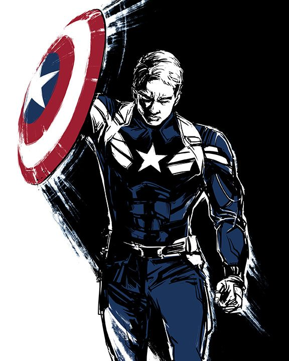 Captain America by Irene Flores