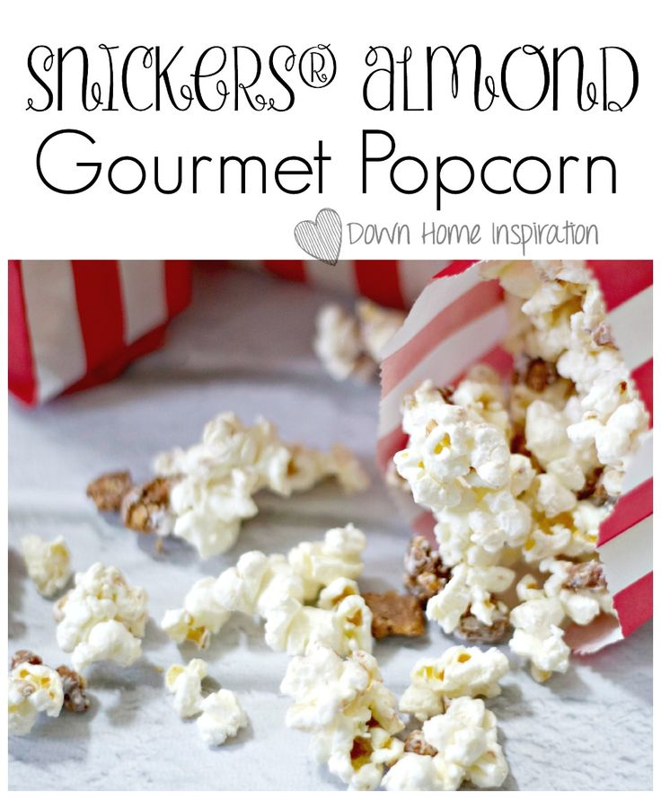 SNICKERS® Almond Gourmet Popcorn - Down Home Inspiration #WhenImHungry #CollectiveBias #ad