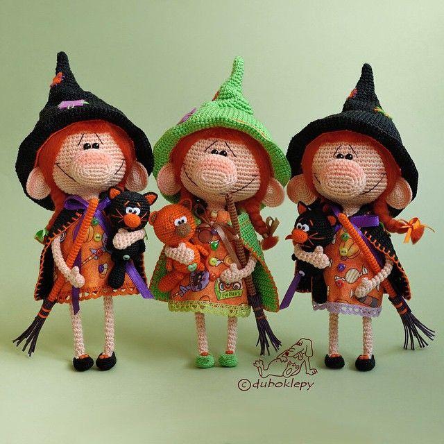Привет, Инквизиция! Меня зовут Катя, и я делаю ведьм #дубоклёпы_куклы…