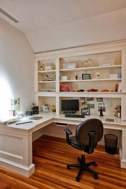Home office basement