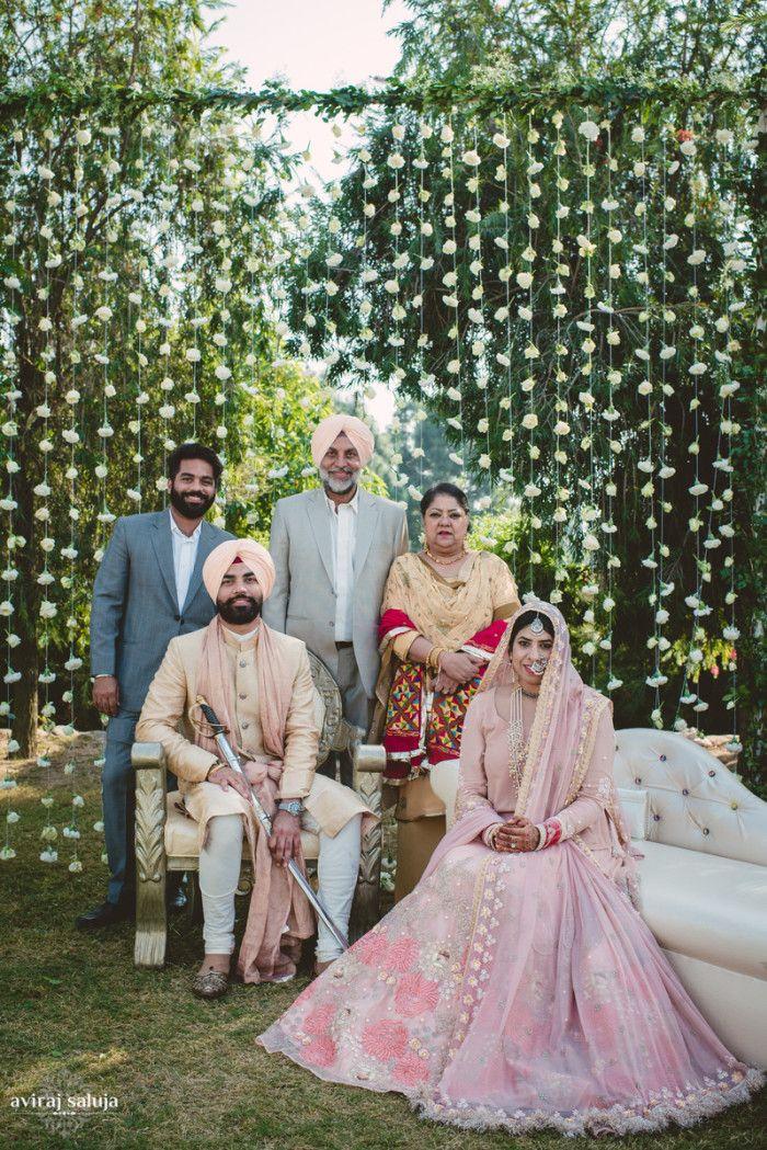Photographer - The Grand Wedding! Photos, Sikh Culture, Cream Color, Bridal Makeup, Groom Sherwani, 3 Piece Suits For Men pictures, images, vendor credits - Aviraj Saluja, Nancy Bhaika, Hair and Makeup by Zareen Bala, WeddingPlz