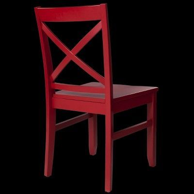 Carey Dining Chair - Brick Red (Set of 2) - Threshold